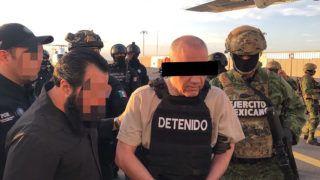 """80706033. México, 6 Jul 2018 (Notimex-Especial).- El gobierno de México extraditó a Estados Unidos a Dámaso """"L"""", alías """"El Licenciado"""", presunto líder del cartel de Sinaloa tras la detención de Joaquín """"El Chapo"""" Guzmán Loera, informó el encargado del despacho de la Procuraduría General de la Republica, Alberto Elías Beltrán. NOTIMEX/FOTO/ESPECIAL/COR/CLJ/"""