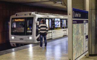 Budapest, 2017. szeptember 23. Felújított metrószerelvény érkezik a Lehel téri állomásra. MTVA/Bizományosi: Róka László  *************************** Kedves Felhasználó! Ez a fotó nem a Duna Médiaszolgáltató Zrt./MTI által készített és kiadott fényképfelvétel, így harmadik személy által támasztott bárminemû – különösen szerzõi jogi, szomszédos jogi és személyiségi jogi – igényért a fotó készítõje közvetlenül maga áll helyt, az MTVA felelõssége e körben kizárt.