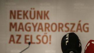 Balatonalmádi, 2019. február 13. Kocsis Máté, a Fidesz frakcióvezetõje sajtótájékoztatót tart a Fidesz-KDNP frakciószövetség ülése elõtt Balatonalmádiban 2019. február 13-án. MTI/Mátyus Tamás