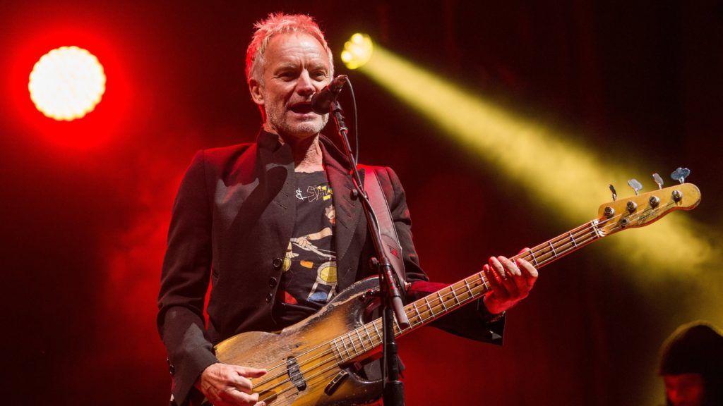 Budapest, 2018. november 24. Sting brit énekes, zenész a Szerencsejáték Zrt. ingyenes koncertjén a budapesti Hõsök terén 2018. november 24-én. MTI/Balogh Zoltán