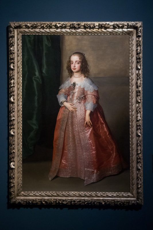 Budapest, 2019. február 19. A Szépmûvészeti Múzeum birtokába került Van Dyck-festmény a múzeumban tartott sajtótájékoztatón 2019. február 19-én. Anthonis Van Dyck (1599-1641) flamand festõ Stuart Mária Henrietta hercegnõt ábrázoló portréjával gyarapodott a múzeum gyûjteménye; az intézmény utóbbi száz évének legnagyobb, 2,1 milliárd forint értékû mûtárgybeszerzése a magyar kormány támogatásával valósult meg. MTI/Balogh Zoltán