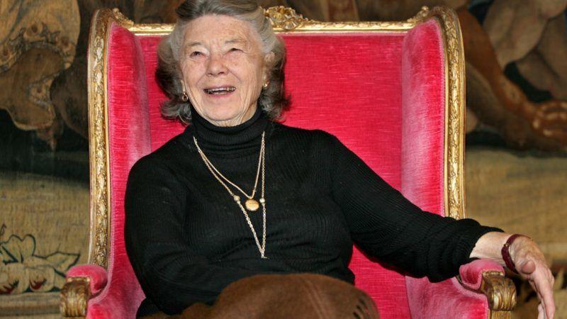 München, 2019. február 7. 2008. november 8-án Münchenben készített kép Rosamunde Pilcher brit írónõrõl, aki 2019. február 6-án, 94 éves korában elhunyt. MTI/AP/Diether Endlicher