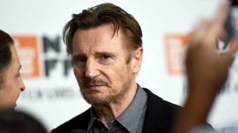 """NEW YORK, NY - OCTOBER 04:  Liam Neeson attends the Netflix's """"The Ballad of Buster Scruggs"""" NYFF Red Carpet Premiere at Alice Tully Hall on October 4, 2018 in New York City.  (Photo by Jared Siskin/Getty Images for Netflix)"""