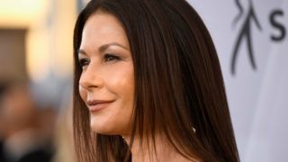 LOS ANGELES, CA - JANUARY 27:  Catherine Zeta-Jones attends the 25th Annual Screen ActorsGuild Awards at The Shrine Auditorium on January 27, 2019 in Los Angeles, California.  (Photo by Frazer Harrison/Getty Images)