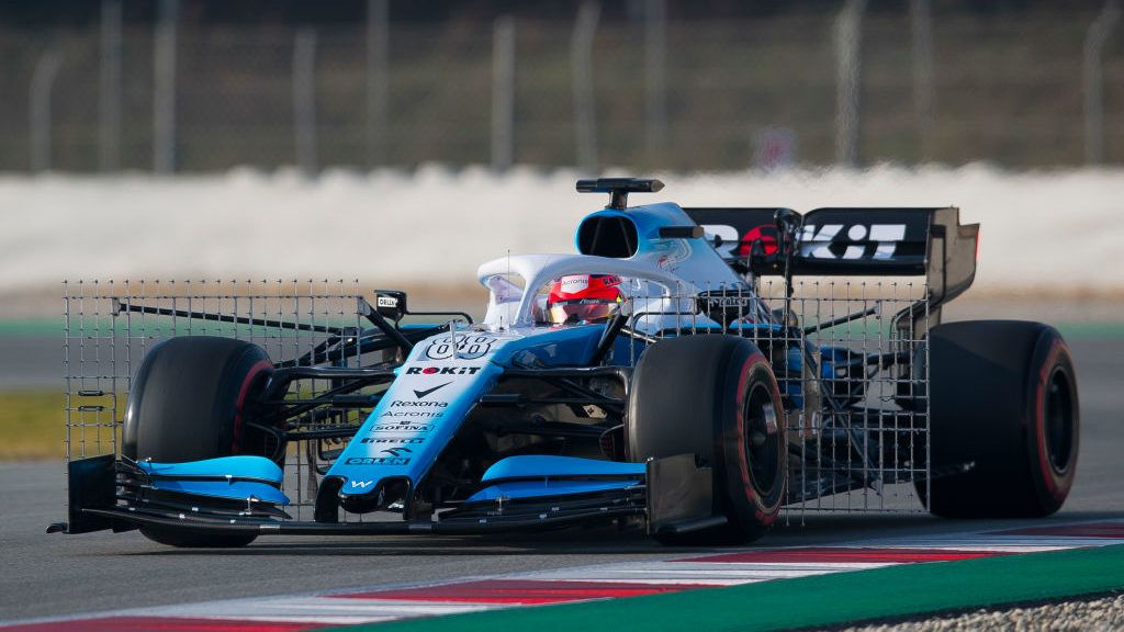 MONTMELO, SPAIN - FEBRUARY 21: Robert Kubica of Rokit Williams F1 Racing Team during day four of F1 Winter Testing at Circuit de Catalunya on February 21, 2019 in Montmelo, Spain. (Photo by Eric Alonso/MB Media/Getty Images)