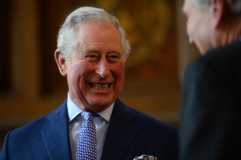 LONDON, ENGLAND - FEBRUARY 21: Prince Charles, Prince of Wales during a visit to Lambeth Palace to present the Cranmer Awards at the Prayer Book Society's thirtieth annual contest on February 21, 2019 in London, England. The annual contest is organised to encourage young people to discover the 1662 Book of Common Prayer, compiled by Thomas Cranmer, Archbishop of Canterbury, during the Reformation. (Photo by Kirsty O'Connor - WPA Pool/Getty Images)