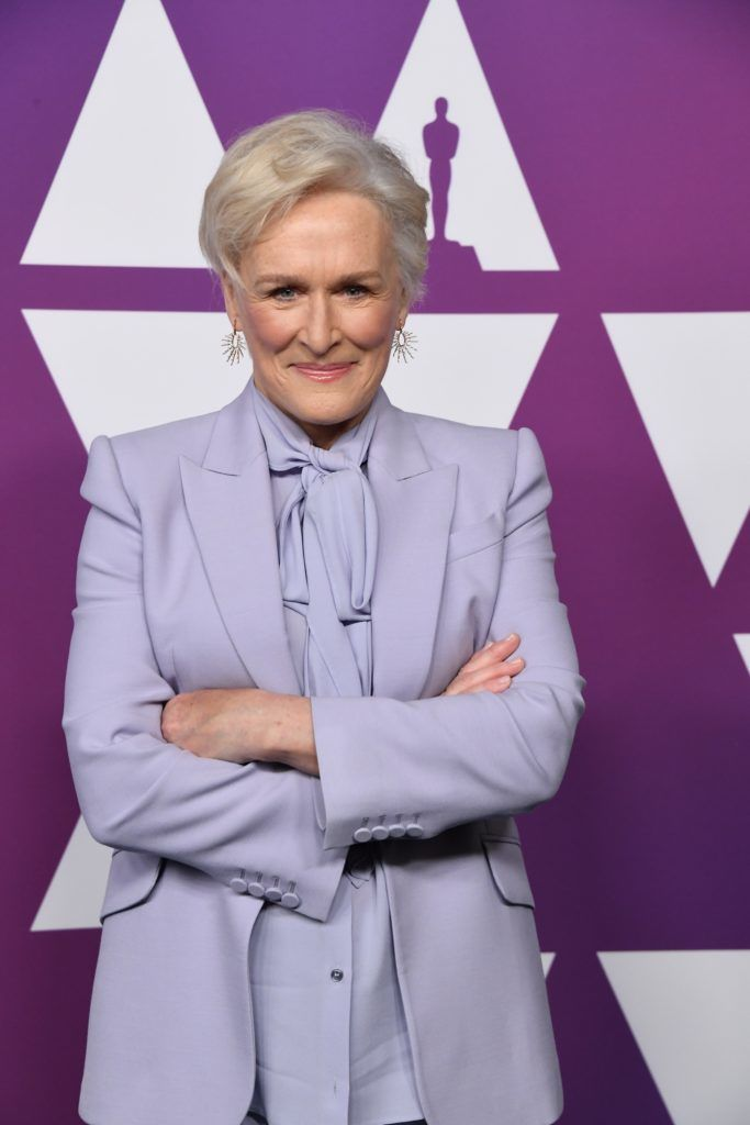 BEVERLY HILLS, CALIFORNIA - FEBRUARY 04: Glenn Close attends the 91st Oscars Nominees Luncheon at The Beverly Hilton Hotel on February 04, 2019 in Beverly Hills, California. (Photo by Steve Granitz/WireImage)