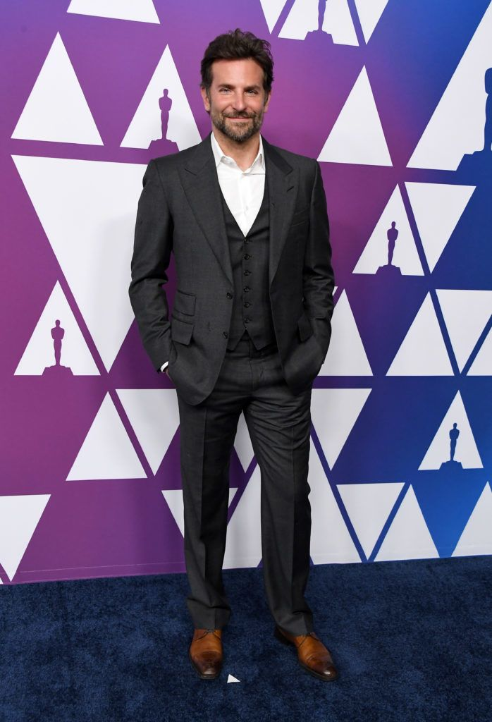 BEVERLY HILLS, CALIFORNIA - FEBRUARY 04: Bradley Cooper attends the 91st Oscars Nominees Luncheon at The Beverly Hilton Hotel on February 04, 2019 in Beverly Hills, California. (Photo by Steve Granitz/WireImage)