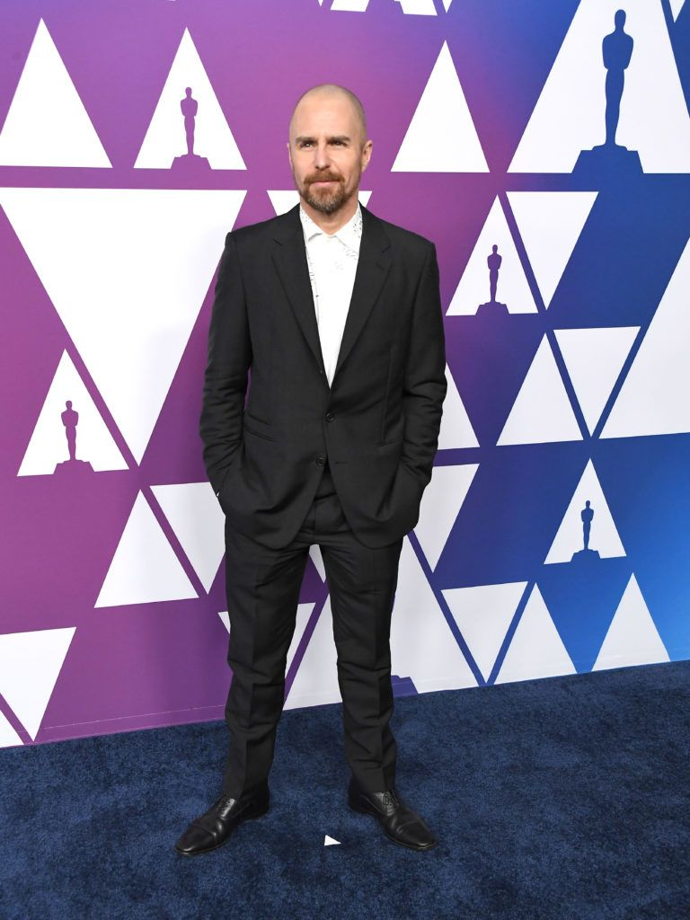 BEVERLY HILLS, CALIFORNIA - FEBRUARY 04: Sam Rockwell arrives at the 91st Oscars Nominees Luncheon at The Beverly Hilton Hotel on February 04, 2019 in Beverly Hills, California. (Photo by Steve Granitz/WireImage,)