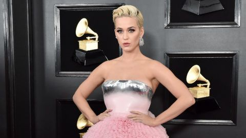 LOS ANGELES, CALIFORNIA - FEBRUARY 10:  Katy Perry attends the 61st Annual GRAMMY Awards at Staples Center on February 10, 2019 in Los Angeles, California. (Photo by Axelle/Bauer-Griffin/FilmMagic)