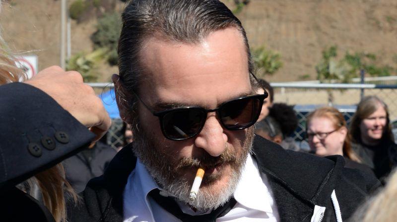 SANTA MONICA, CALIFORNIA - FEBRUARY 23: Actor Joaquin Phoenix attends the 2019 Film Independent Spirit Awards on February 23, 2019 in Santa Monica, California. (Photo by Amanda Edwards/Getty Images)