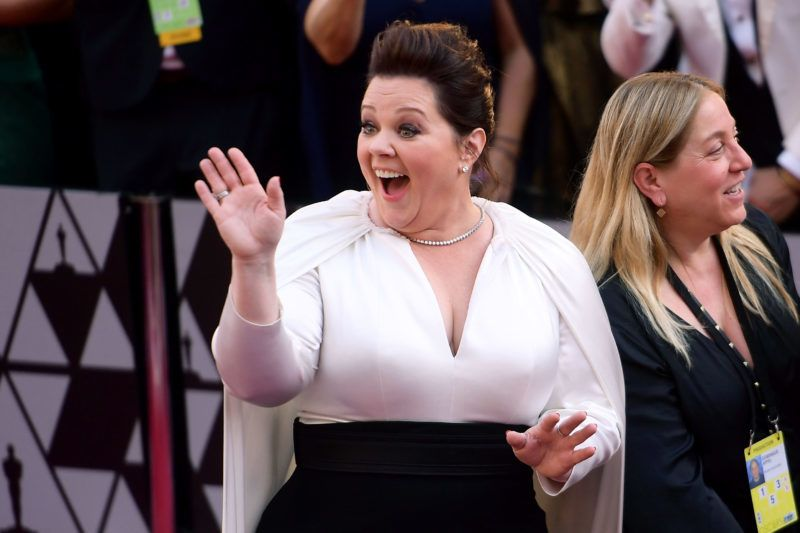 HOLLYWOOD, CALIFORNIA - FEBRUARY 24: Melissa McCarthy attends the 91st Annual Academy Awards at Hollywood and Highland on February 24, 2019 in Hollywood, California. (Photo by Matt Winkelmeyer/Getty Images)