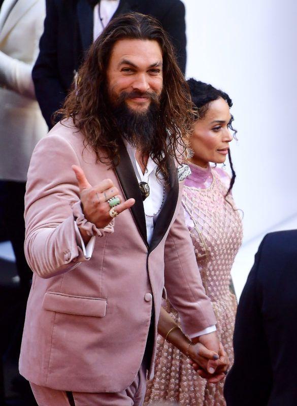 HOLLYWOOD, CALIFORNIA - FEBRUARY 24: (L-R) Jason Momoa and Lisa Bonet attend the 91st Annual Academy Awards at Hollywood and Highland on February 24, 2019 in Hollywood, California. (Photo by Matt Winkelmeyer/Getty Images)