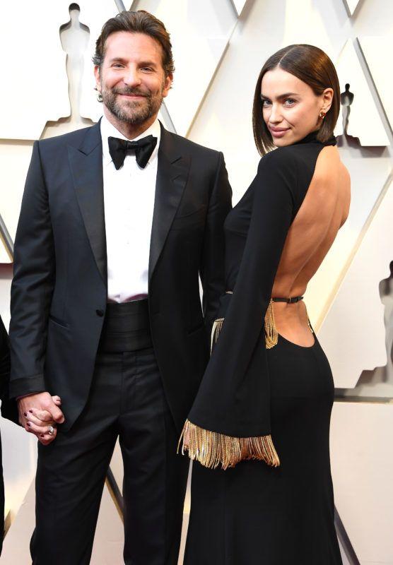 HOLLYWOOD, CALIFORNIA - FEBRUARY 24: Bradley Cooper and Irina Shayk arrives at the 91st Annual Academy Awards at Hollywood and Highland on February 24, 2019 in Hollywood, California. (Photo by Steve Granitz/WireImage)