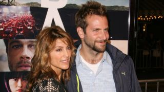 """Jennifer Esposito and Bradley Cooper during """"Babel"""" Los Angeles Premiere - Arrivals at Mann Village in Westwood, California, United States. (Photo by Jason Merritt/FilmMagic)"""