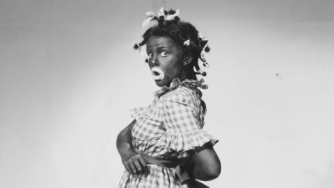 Actress Judy Garland in Blackface (Photo by  John Springer Collection/CORBIS/Corbis via Getty Images)