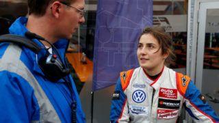 9 Tatiana Calderón (COL, Carlin, Dallara F312 – Volkswagen), FIA Formula 3 European Championship, round 5, Spa-Francorchamps (BEL) - 19. - 21. June 2015 (Photo by Hoch Zwei/Corbis via Getty Images)