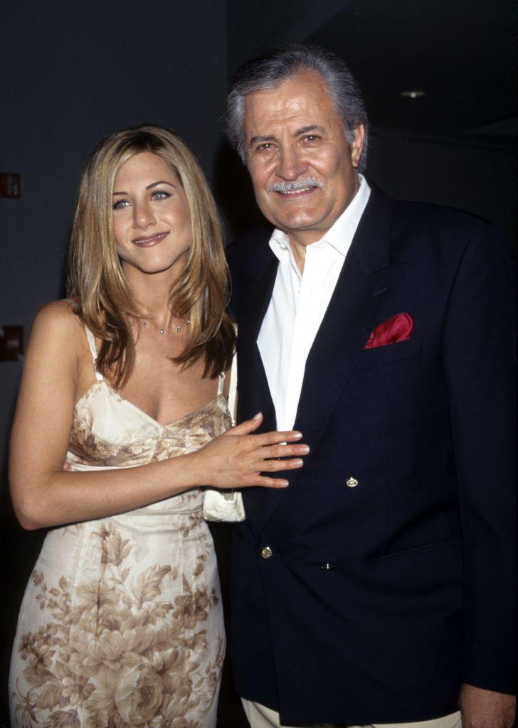 Jennifer Aniston and John Aniston (Photo by Ke.Mazur/WireImage)