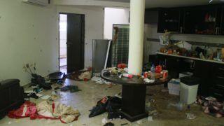 """Los Mochis, 2016. január 12. Joaquin """"El Chapo"""" Guzmán, a hírhedt Sinaloa-drogkartell feje rejtekhelyének konyhája a mexikói tengerészgyalogság rajtaütése után Los Mochisban 2016. január 11-én. A drogbárót tizenöt, gyorstüzelésû fegyverrel és rakétavetõkkel felszerelt biztonsági õrizte, ötüket a rajtaütés során agyonlõtték, Guzmánt a hatóságok sértetlenül vették õrizetbe. (MTI/EPA/Gilberto Meza)"""