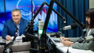 Miniszterelnöki interjú a Kossuth rádióban