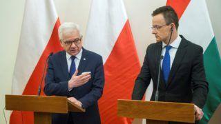 A lengyel külügyminiszter Budapesten