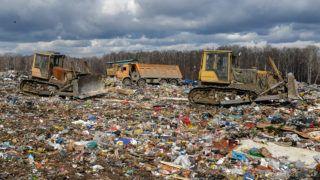 5477236 17.04.2018 Gusinobrodsky solid domestic waste landfill, the Novosibirsk Region. Alexandr Kryazhev / Sputnik