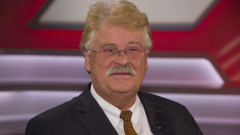 """Elmar BROK, politician, CDU portrait, portrait, portrait, single picture, """"Maischberger"""", talk show, WDR / ARD, 05.09.2018.   Usage worldwide"""