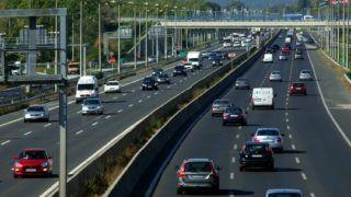 Budapest, 2018. szeptember 28. Gépjármûforgalom egy átlagos munkanap délelõttjén az M1 és M7-es autópályák közös ki- és bevezetõ szakaszán, Budaörs térségében. MTVA/Bizományosi: Jászai Csaba  *************************** Kedves Felhasználó! Ez a fotó nem a Duna Médiaszolgáltató Zrt./MTI által készített és kiadott fényképfelvétel, így harmadik személy által támasztott bárminemû – különösen szerzõi jogi, szomszédos jogi és személyiségi jogi – igényért a fotó készítõje közvetlenül maga áll helyt, az MTVA felelõssége e körben kizárt.