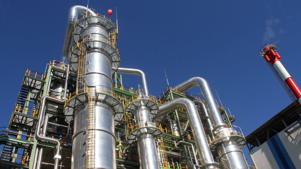 Kazincbarcika, 2011. szeptember 30.A Wanhua Industrial Group leányvállalataként működő BorsodChem Zrt. TDI üzeme Kazincbarcikán.MTI Fotó: Vajda János