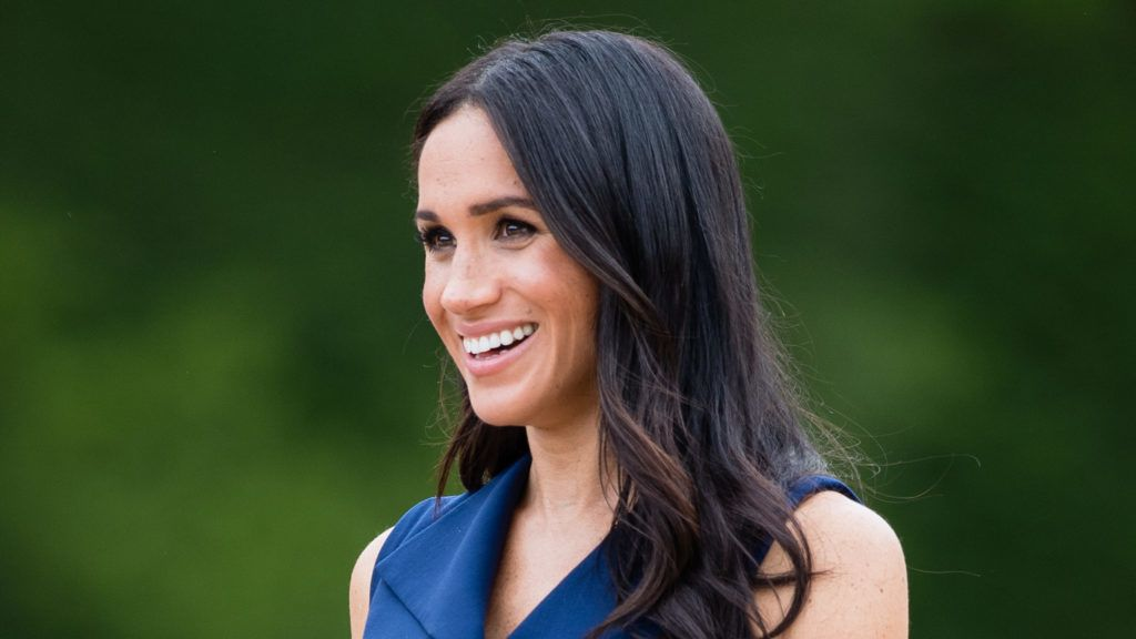 MELBOURNE, AUSTRALIA - OCTOBER 18:  Meghan, Duchess of Sussex attends a Reception hosted by the Honourable Linda Dessau AC, Governor of Victoria and Mr. Anthony Howard QC at Government House Victoria on October 18, 2018 in Melbourne, Australia. . The Duke and Duchess of Sussex are on their official 16-day Autumn tour visiting cities in Australia, Fiji, Tonga and New Zealand.  (Photo by Samir Hussein/Samir Hussein/WireImage)