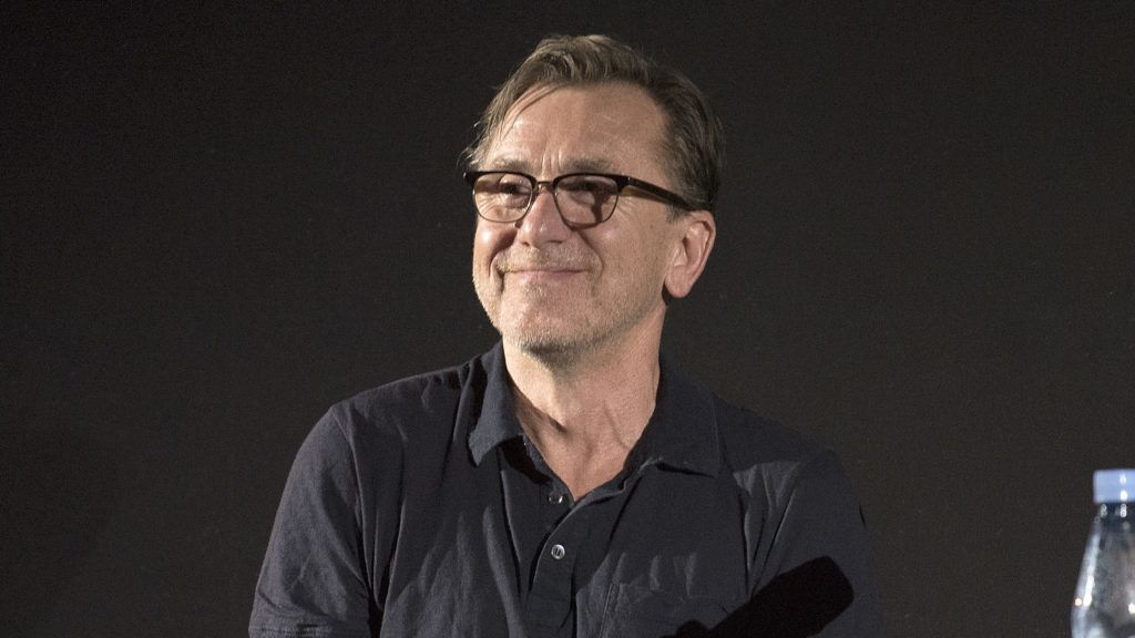 BUENOS AIRES, ARGENTINA - DECEMBER 11:  Tim Roth speaks on stage during   the Cannes Film Festival Week 'Master Class With Tim Roth' at the Gaumont Cinema on December 11, 2018 in Buenos Aires, Argentina.  (Photo by Lalo Yasky/Getty Images)