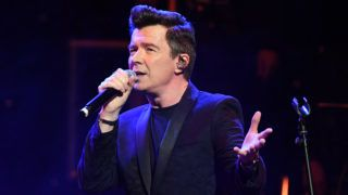LONDON, ENGLAND - NOVEMBER 25: Rick Astley performs during Magic Of Christmas, in association with Magic FM, at London Palladium on November 25, 2018 in London, England. (Photo by Stuart C. Wilson/Getty Images)