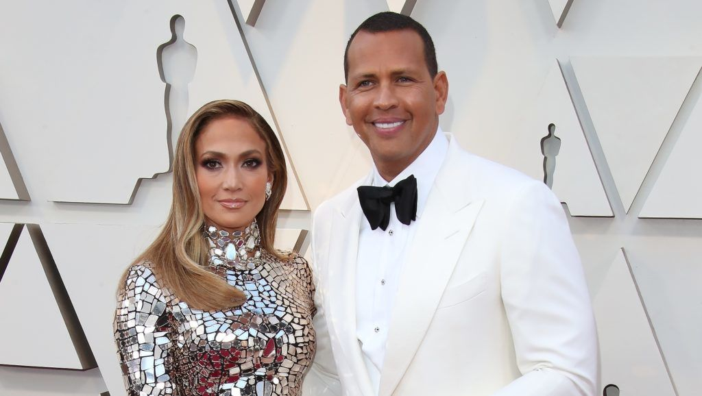 HOLLYWOOD, CA - FEBRUARY 24: Alex Rodriguez and Jennifer Lopez attend the 91st Annual Academy Awards at Hollywood and Highland on February 24, 2019 in Hollywood, California. (Photo by Dan MacMedan/Getty Images)