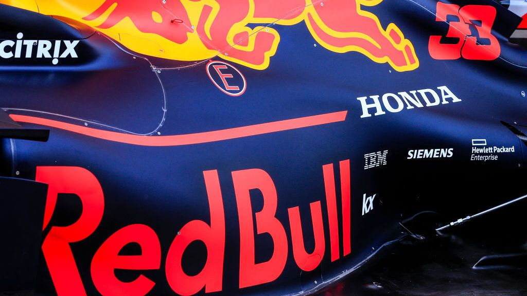 Red Bull with Honda engine during the Formula 1 2019 Pre-Season Tests at Circuit de Barcelona - Catalunya in Montmelo, Spain on March 1.     (Photo by Xavier Bonilla/NurPhoto via Getty Images)