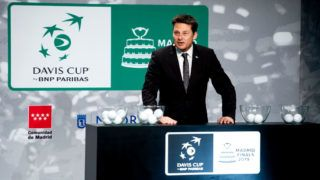 MADRID, SPAIN - FEBRUARY 14: Andreas Egli attends the draw for the Davis Cup Finals. on February 14, 2019 in Madrid, Spain. Madrid will host the Davis Cup Finals from November 18 to 24 and the draw will determine which groups the 18 nations will compete in. (Photo by Samuel de Roman/Getty Images)