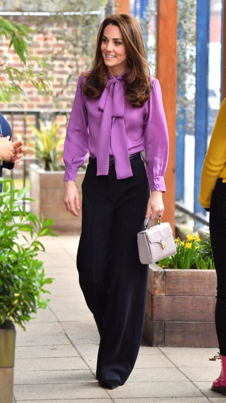 LONDON, ENGLAND - MARCH 12: Catherine, Duchess of Cambridge visits the Henry Fawcett Children's Centre on March 12, 2019 in London, England. (Photo by Arthur Edwards - WPA Pool/Getty Images)