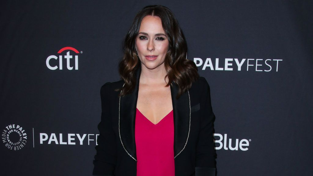 Actress Jennifer Love Hewitt arrives at the 2019 PaleyFest LA - FOX's 9-1-1 held at the Dolby Theatre on March 17, 2019 in Hollywood, Los Angeles, California, United States. (Photo by Xavier Collin/Image Press Agency/NurPhoto via Getty Images)