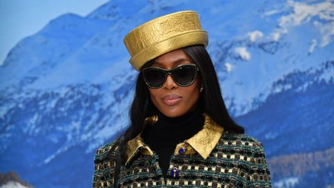 PARIS, FRANCE - MARCH 05: Naomi Campbell attends the Chanel show as part of the Paris Fashion Week Womenswear Fall/Winter 2019/2020 on March 05, 2019 in Paris, France. (Photo by Stephane Cardinale - Corbis/Corbis via Getty Images)