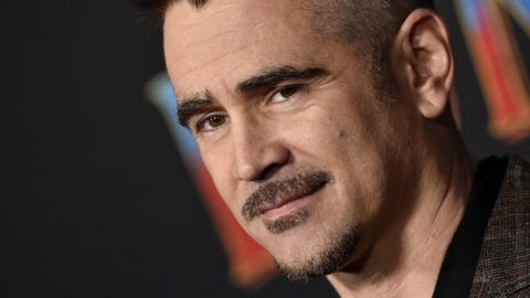 """LOS ANGELES, CALIFORNIA - MARCH 11: Colin Farrell attends the premiere of Disney's """"Dumbo"""" at El Capitan Theatre on March 11, 2019 in Los Angeles, California. (Photo by Axelle/Bauer-Griffin/FilmMagic)"""
