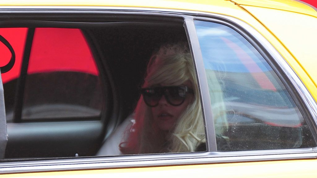 NEW YORK, NY - JULY 10: Amanda Bynes is seen in Chelsea on July 10, 2013 in New York City. (Photo by Alo Ceballos/FilmMagic)