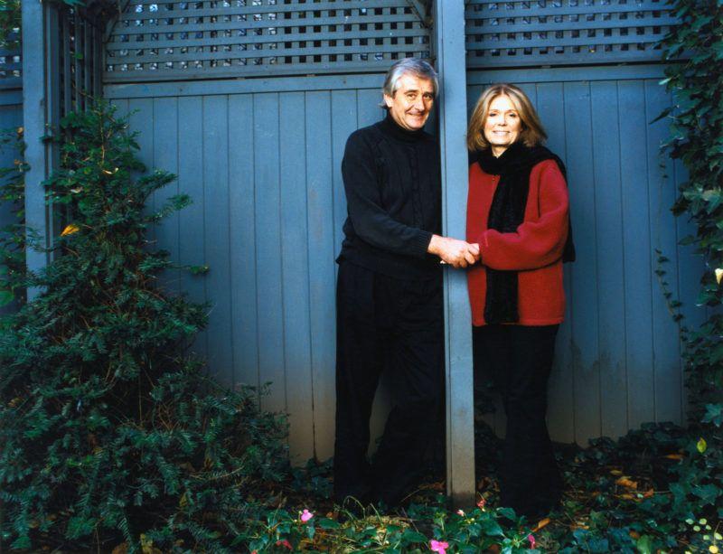 Feminist Gloria Steinem and Husband David Bale (Photo by Deborah Feingold/Corbis via Getty Images)