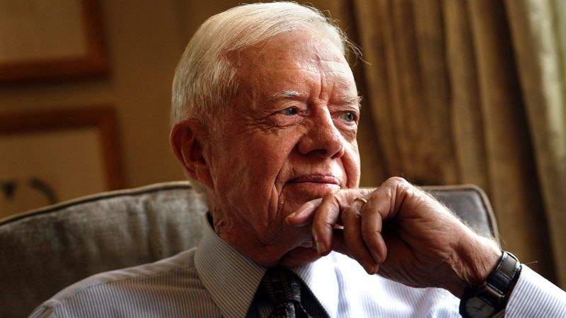 NEW YORK?Former President Jimmy Carter has a new published book, Palestine: Peace, Not Apartheid.  (Photo by Carolyn Cole/Los Angeles Times via Getty Images)
