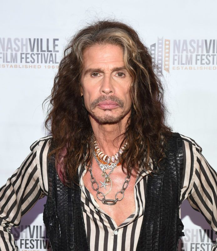 NASHVILLE, TN - MAY 10:  Steven Tyler attends the 49th Annual Nashville Film Festival - 'Steven Tyler: Out On A Limb' World Premiere on May 10, 2018 in Nashville, Tennessee.  (Photo by Jason Kempin/Getty Images)