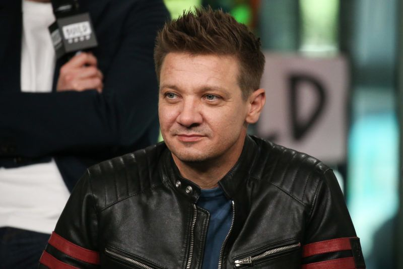 NEW YORK, NY - JUNE 12:  Jeremy Renner attends the Build Series at Build Studio on June 12, 2018 in New York City.  (Photo by Rob Kim/Getty Images)