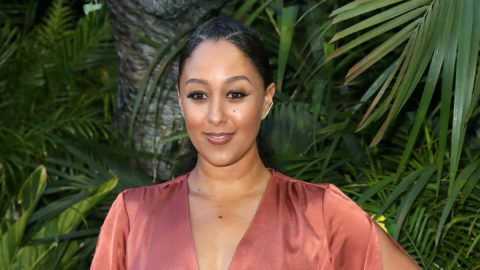 """LOS ANGELES, CA - JUNE 12: Tamara Mowry attends the premiere of Universal Pictures and Amblin Entertainment's """"Jurassic World: Fallen Kingdom"""" on June 12, 2018 in Los Angeles, California.  (Photo by JB Lacroix/WireImage)"""