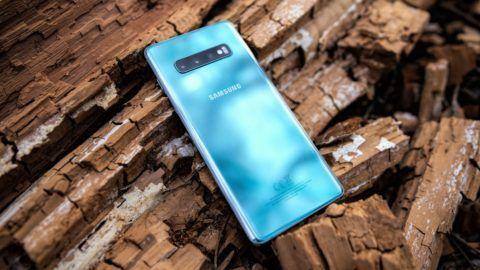 Samsung Galaxy  S10+ mobiltelefon teszt