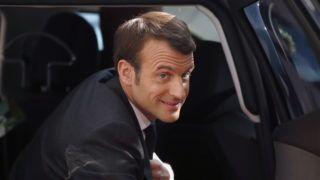 Brüsszel, 2019. március 21. Emmanuel Macron francia elnök az EU-tagországok állam- és kormányfõinek kétnapos találkozójára érkezik Brüsszelben 2019. március 21-én. MTI/EPA/Pool/Eva Plevier
