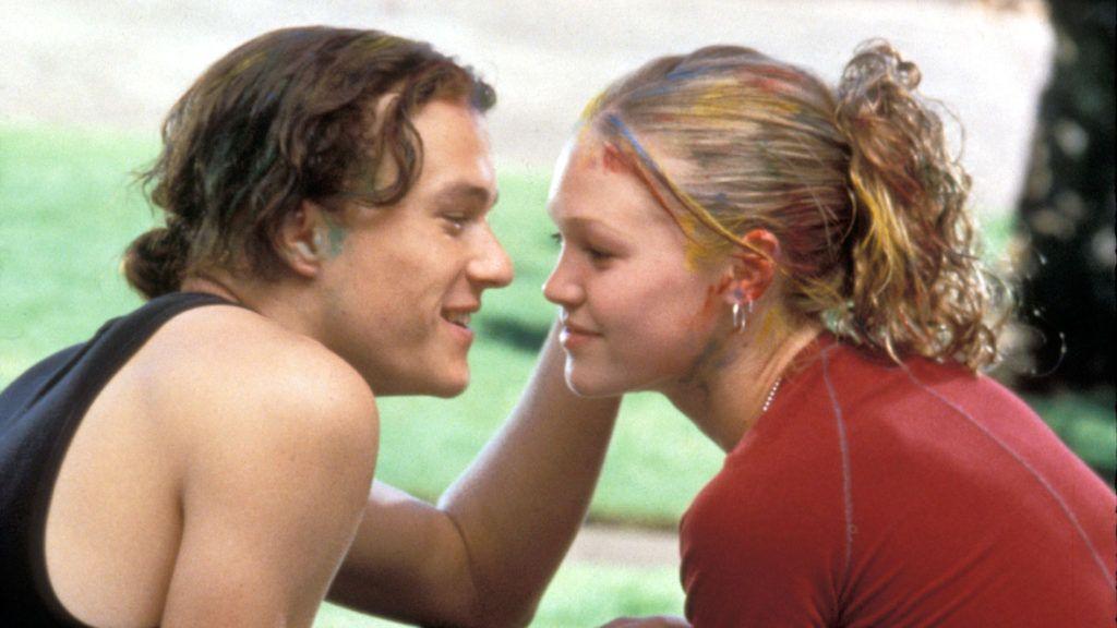 10 BONNES RAISONS DE TE LARGUER  10 Things I Hate About You   Year: 1999 - USA  Heath Ledger, Julia Stiles USA : 1999   Director: Gil Junger