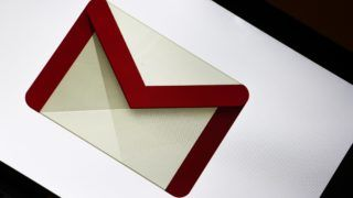 The logo of the Google email servic Gmail is seen on a screen. (Photo by Alexander Pohl/NurPhoto)