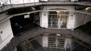 Image: 72986625, A Szegedi Fegyház és Börtön (Csillagbörtön) büntetés-végrehajtási intézet. A Szegedi Fegyház és Börtön 125 éve épült, akkoriban Európa egyik legkorszerűbb intézete volt. A Csillagbörtön napjainkban a súlyos bűncselekményt elkövetett fogvatartottak büntetés-végrehajtási intézete. A három telephelyen fogvatartott 1200 ember átlagéletkora 34 év, átlagos büntetési idejük 15 esztendő, nevelésükről, őrzésükről hétszázan gondoskodnak., Place: Szeged, Hungary, License: Rights managed, Model Release: No or not aplicable, Property Release: Yes, Credit: smagpictures.com